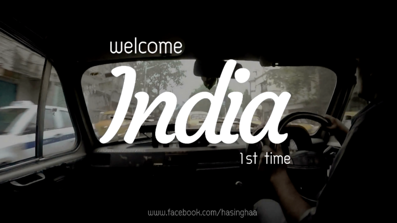 WELCOME INDIA 1st Time (ต้อนรับแขกครั้งแรก)